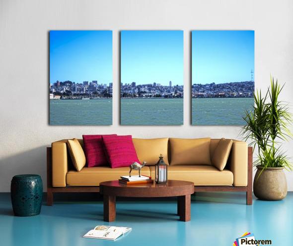 Safe Harbor San Francisco Split Canvas print