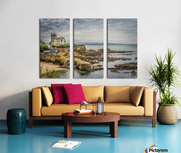 Biarritz Split Canvas print