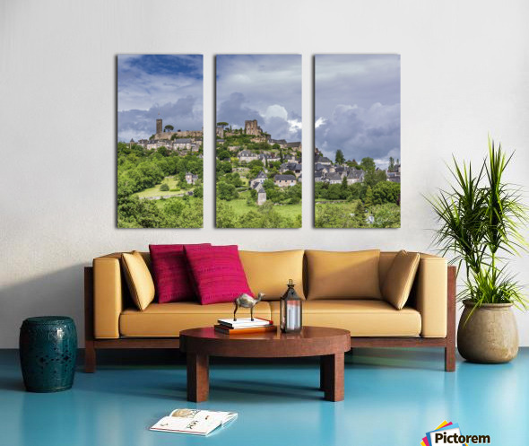 Turenne Split Canvas print