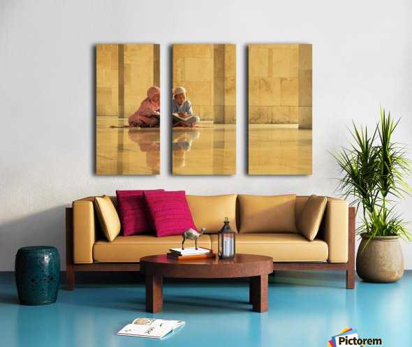 learning Split Canvas print