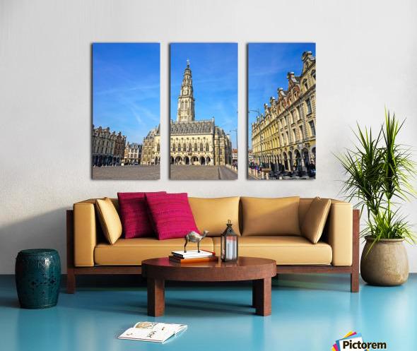 Heroes Square Arras France Split Canvas print