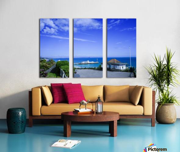 English Seaside Bournemouth Split Canvas print