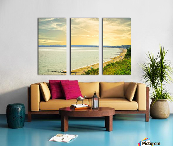 Coastal England Split Canvas print