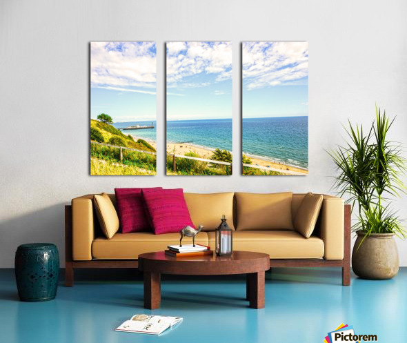 The Southern Coast of England Split Canvas print