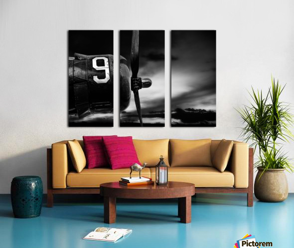 Number 9 Consolidated B24 Split Canvas print