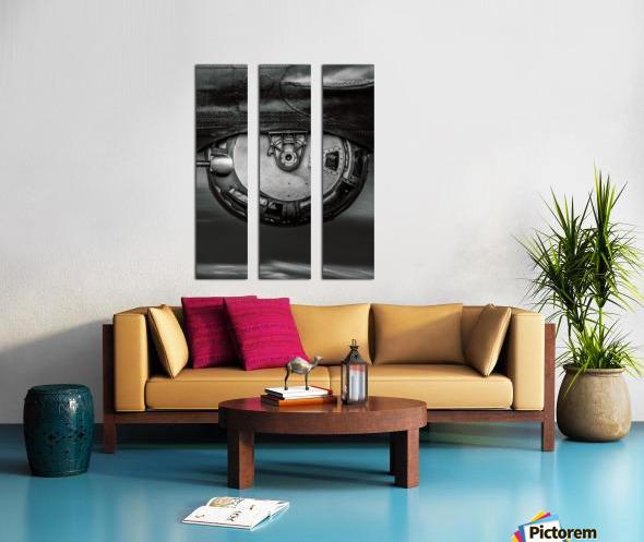 Ball Turret Split Canvas print