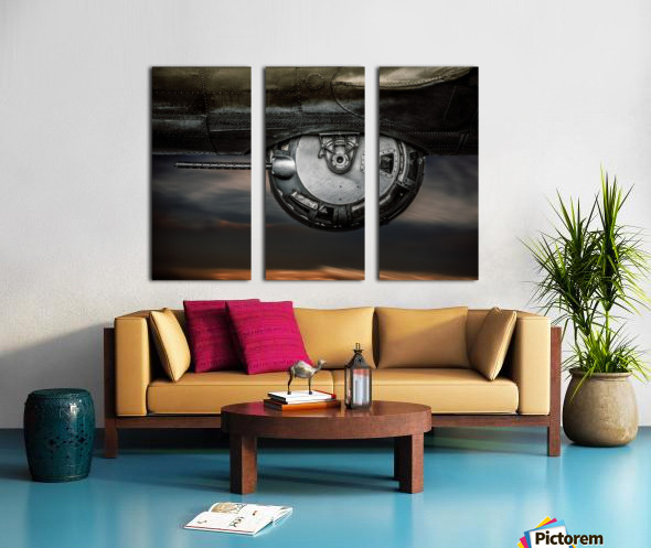 Ball Turret No 2 Split Canvas print