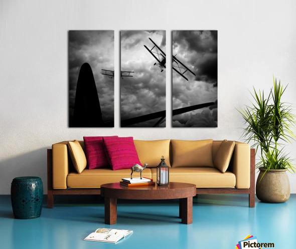 Air Pursuit  Split Canvas print