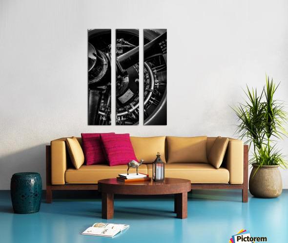 Cyclone 14 Split Canvas print