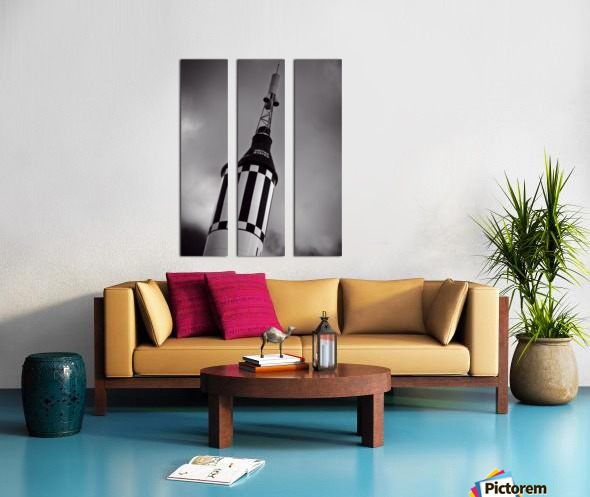 Mercury Seven Split Canvas print