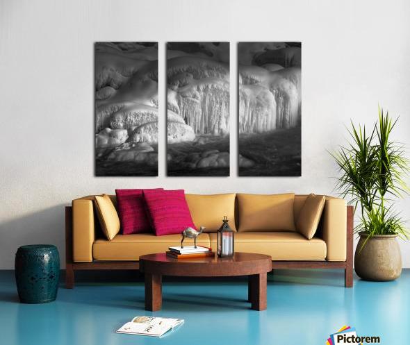 Ice Wall Split Canvas print