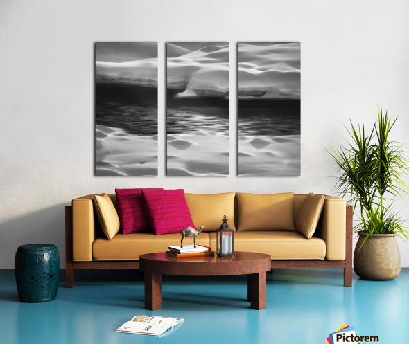 Between Here And There Split Canvas print