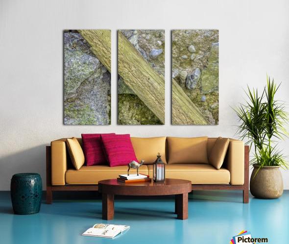 The Wall Split Canvas print