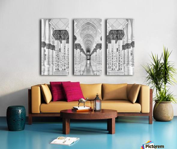 Kind of Symmetry Split Canvas print