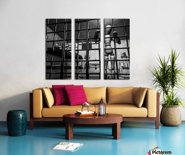 Cell Mates Split Canvas print