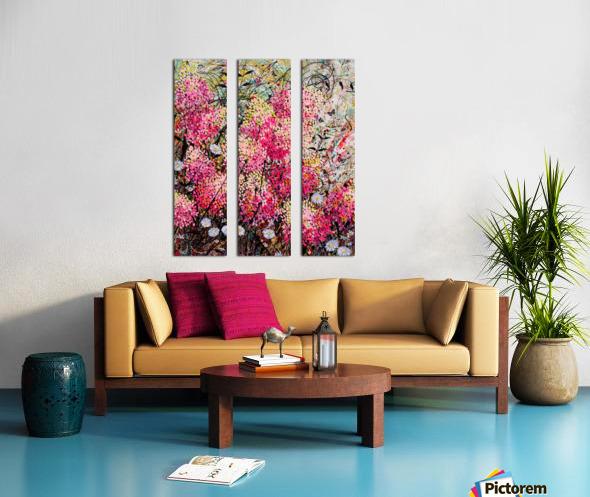 Strawberry Sundae Panel 1 Split Canvas print