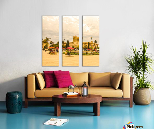 One Day in San Diego Split Canvas print