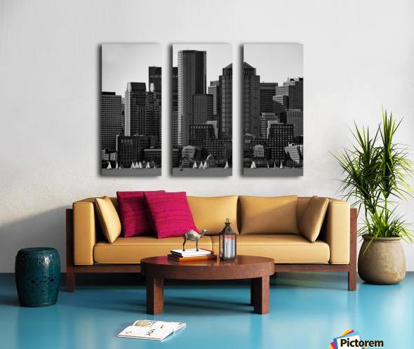 Towers Split Canvas print