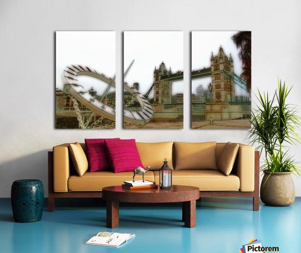 London fine art  - Tower bridge Toile Multi-Panneaux