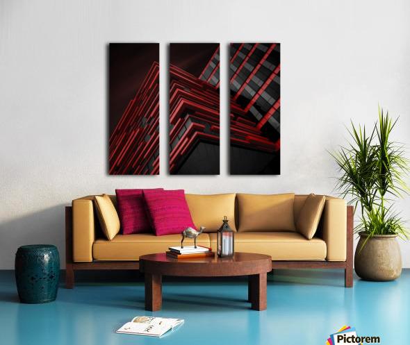 Blood Stream Split Canvas print
