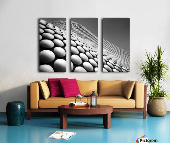 Curve Split Canvas print