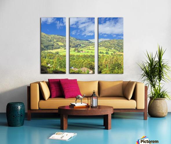 Beautiful Wales Split Canvas print