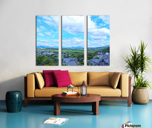 One Day in Wales 2 of 5 Split Canvas print