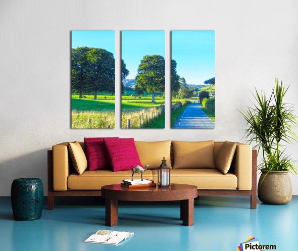 One Day in Wales 1 of 5 Split Canvas print