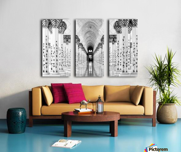 Sheik Zayed Mosque Split Canvas print