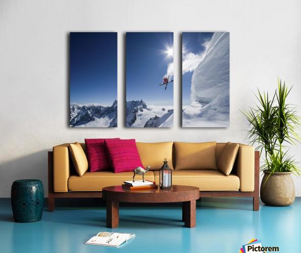 Higher Split Canvas print