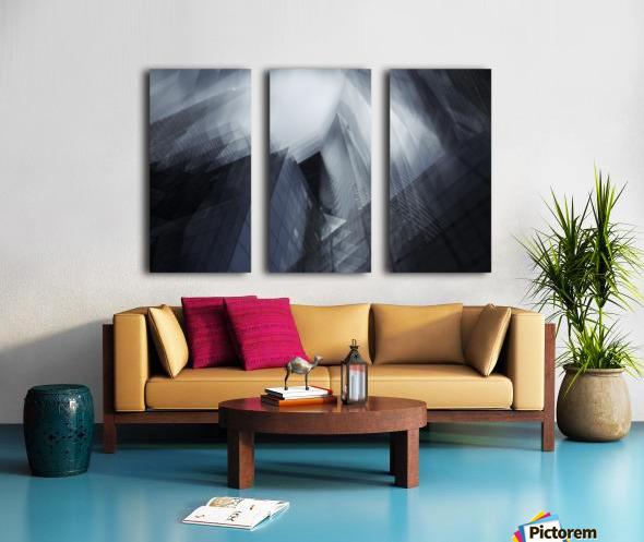 Parallel by Sebastien DEL GROSSO Split Canvas print