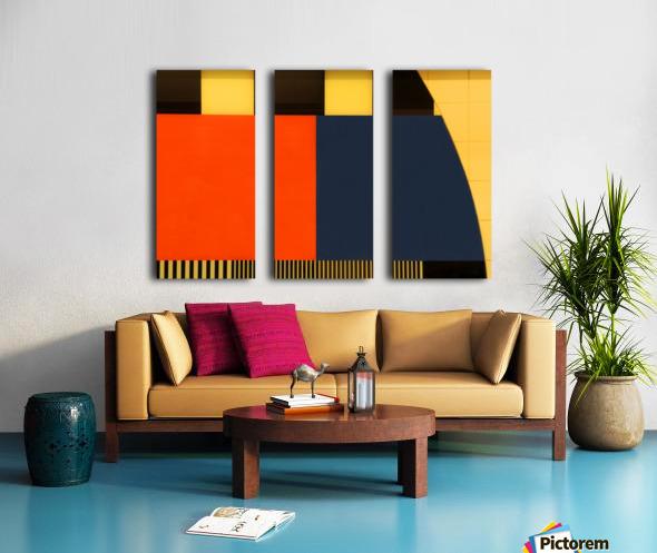 NOS Testscreen  03 by Huib Limberg  Split Canvas print