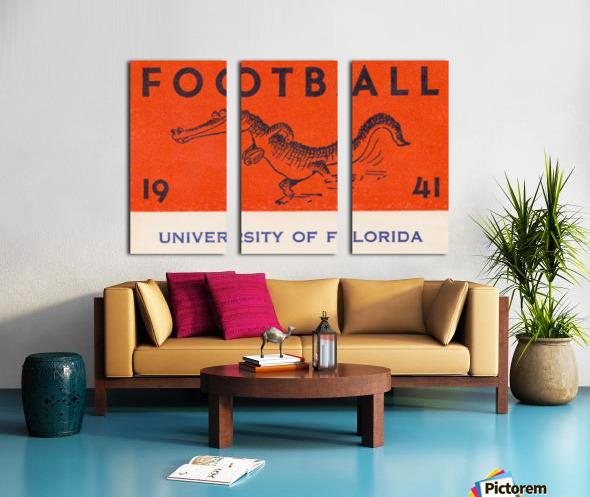1941 Florida Gators Football Split Canvas print