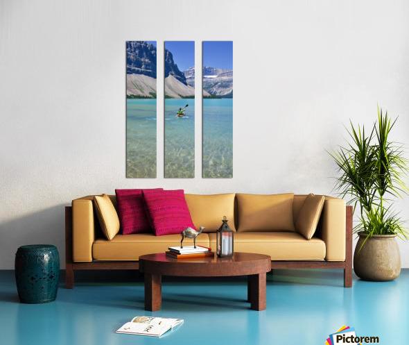 Kayaking Split Canvas print