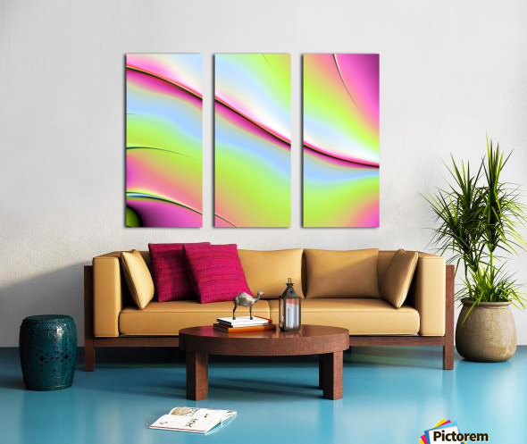Abstract background. Split Canvas print