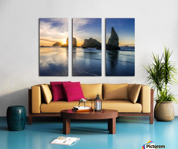 Bandon Oregon 02 Split Canvas print