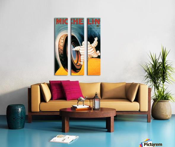 Michelin Poster Split Canvas print