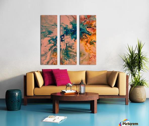 Joy Overflows Split Canvas print