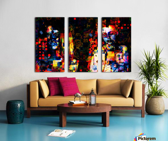 Anikaz Split Canvas print