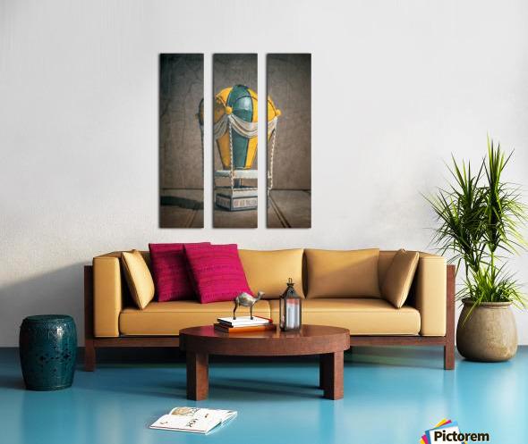 Reves denfant Split Canvas print