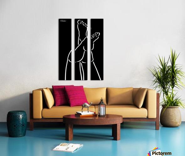 Legs 4 Split Canvas print