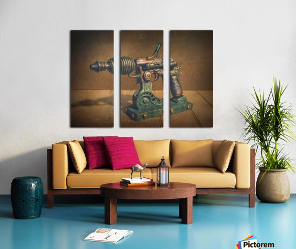 Steampunk 1 Split Canvas print