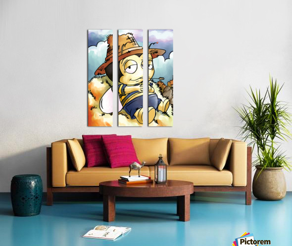 Its Country Buster Split Canvas print