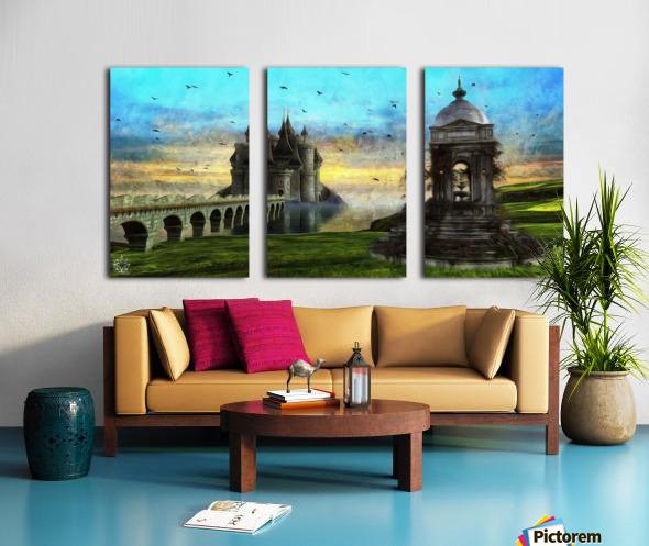Height of Land Split Canvas print