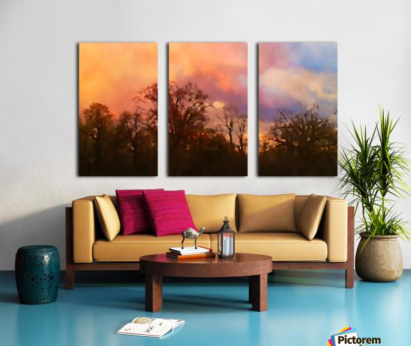 September Storm  Split Canvas print