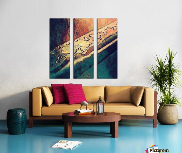 Water Drops Split Canvas print