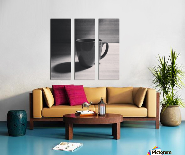 coffee mug Split Canvas print