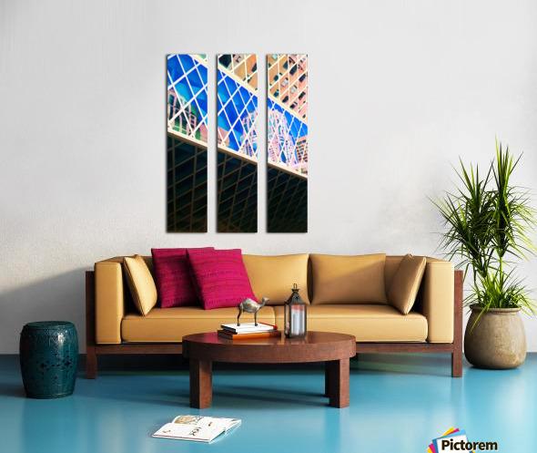 seattle downtown Split Canvas print