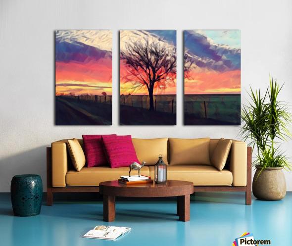 winter tree Split Canvas print