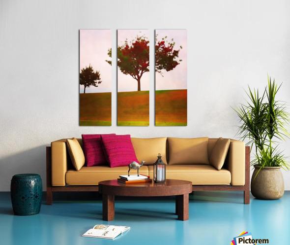 fall tree Split Canvas print